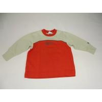 Beige-Oranger Pullover